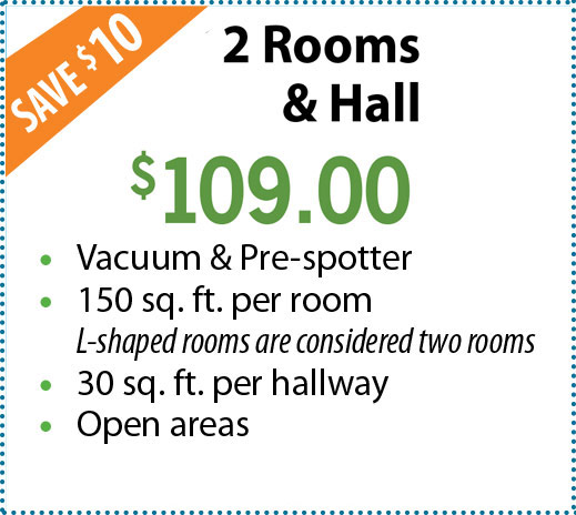 2 Rooms & Hall