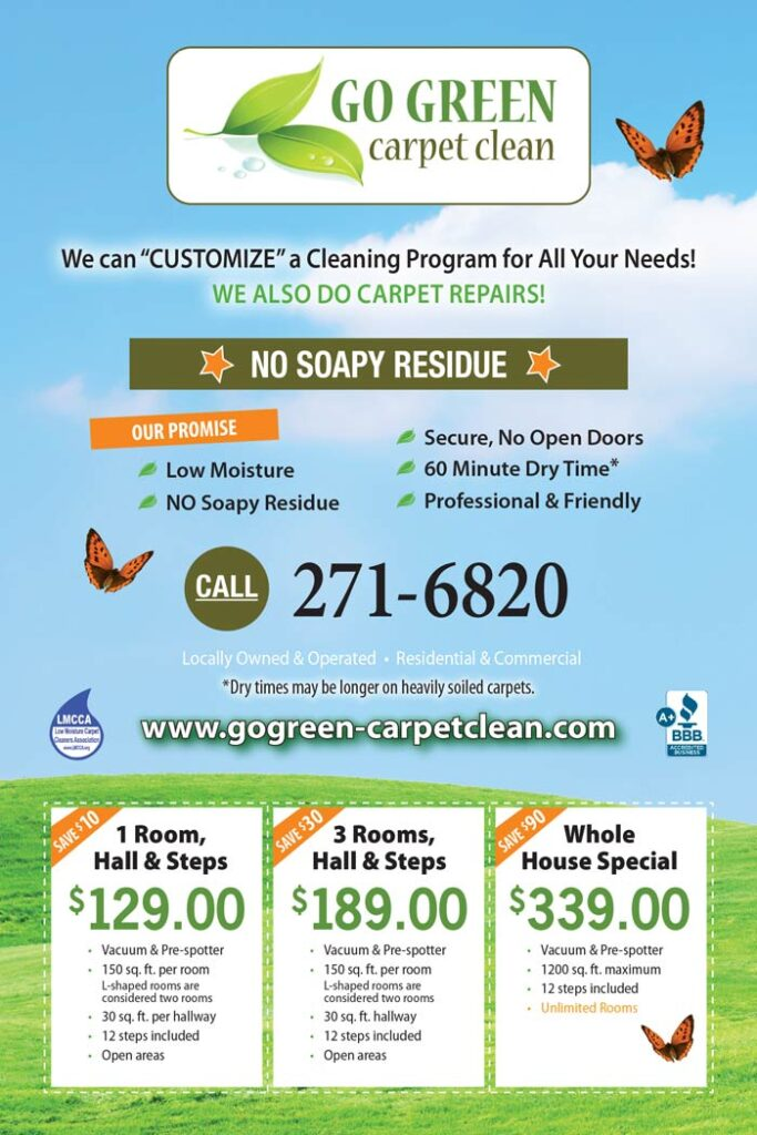carpet cleaning specials